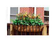 Griffith Creek Newport Window Box Planter 24 Inch  Black