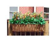 Griffith Creek Nelumbo Window Box Planter 30 Inch  Black