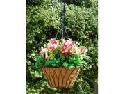 Griffith Creek Nelumbo Hanging Planter 14 Inch  Black