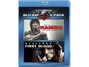 Rambo: The Fight Continues / Rambo - First Blood (Blu-ray) Blu-Ray New 9SIA17P3ES5221