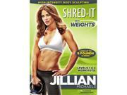 Jillian Michaels - Shred-It With Weights DVD New 9SIA17P3ES6823