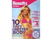 Results Fitness - 10 Days To A Better Body DVD New