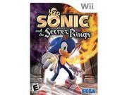 Sonic and the Secret Rings Nintendo WII New