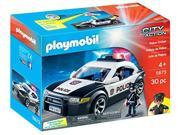 Playmobil City Action Police Cruiser Playset 5673 for Kids 4 and up