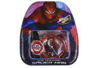Marvel The Amazing Spiderman Kids LCD Watch With Clock Gift Set 9SIA0ZM6GT4446