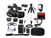 Canon XF100 Professional Camcorder with 10x HD Video Lens Kit 4888B001
