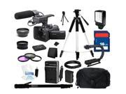 Sony HXR-NX30 Palm Size NXCAM HD Camcorder with Projector with 96GB Flash Memory, Everything You Need Kit, HXR-NX30U