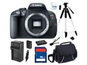 Canon EOS Rebel T5i 18.0 MP CMOS Digital Camera with 3-inch Touchscreen and Full HD Movie Mode (Body Only) , Beginner's Bundle Kit, 8595B001