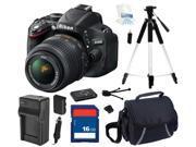 Nikon D5100 CMOS Digital SLR with 18-55mm f/3.5-5.6AF-S DX VR Nikkor Zoom Lens, Beginer's Bundle Kit, 25478