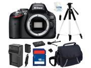 Nikon D5100 16.2MP CMOS Digital SLR with Vari-Angle LCD Monitor Body Only, Beginner's Bundle Kit, 25476
