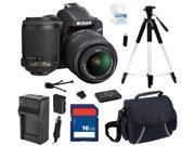 Nikon D3200 Black 24.2 MP CMOS Digital SLR Camera with 18-55mm Lens and Nikon AF-S DX VR Zoom-Nikkor 55-200mm f/4-5.6G IF-ED Lens, Beginner's Bundle Kit, 25492