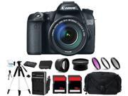 Canon Eos 70d Digital Camera   3 Lens 18-135mm   48gb Complete Bundle Kit