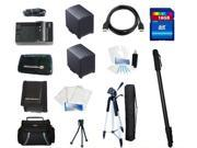 Essential Accessories Kit For Sony AVCHD, MiniDV, HandyCam with NP-FV100 Battery