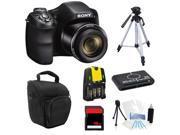 Sony Cyber-Shot DSC-H200 20.1 MP Digital Camera + 16GB Essential Kit with Tripod