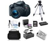 Canon EOS Rebel T5i 18.0 MP DSLR + 18-55mm + (Holiday Bundle Kit)