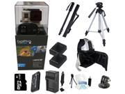 GoPro Hero 3+ Black Edition + All You Need Extreme Outdoor Bundle Kit for Snowboarding, Skiing, Surfing, Mountain Biking, Sky Diving and more!