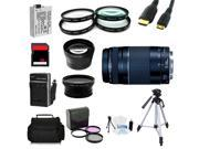 Advanced Shooters Kit for the Canon T4i includes: EF 75-300mm f/4-5.6 III + more