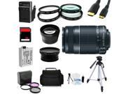 Advanced Shooters Kit for the Canon T3i includes:EF-S 55-250mm IS II + more