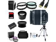 Advanced Shooters Kit for the Canon 70D includes: EF-S 18-55mm IS II  + more