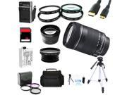 Advanced Shooters Kit for the Canon T3i includes:EF-S 18-135mm IS + MORE
