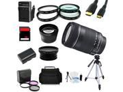 Advanced Shooters Kit for the Canon 70D includes: EF-S 18-135mm IS + MORE ...