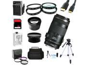 Advanced Shooters Kit for the Canon T3i includes:EF 70-300mm IS USM + MORE ..