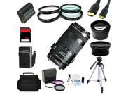 Advanced Shooters Kit for the Canon T3 includes: EF 70-300mm IS USM  + MORE ...