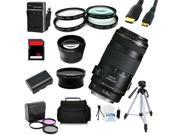 Advanced Shooters Kit for the Canon 70D includes: EF 70-300mm IS USM  + MORE ...