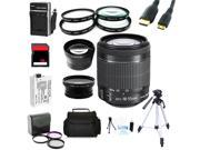 Advanced Shooters Kit for the Canon T3i includes:EF-S 18-55mm STM  + MORE ..