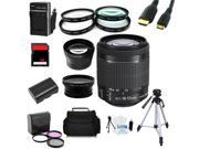 Advanced Shooters Kit for the Canon 70D includes: EF-S 18-55mm STM  + MORE ...