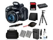 Canon PowerShot SX50 HS 12MP Digital Camera + (16GB Fundamental Camera Bundle)