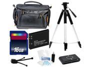 Intermediate Digital Camera Accessories Kit + Battery + 16GB for Nikon S6800