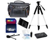 Intermediate Digital Camera Accessories Kit + Battery + 16GB for Nikon P530