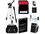Advanced Accessories Kit + Battery + Charger + Tripod + 32GBFor Nikon P530