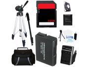 Advanced Accessories Kit + Battery + Charger + Tripod + 32GBFor Nikon P7800