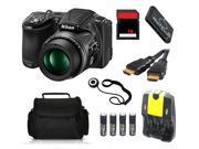 Nikon COOLPIX L830 16 MP Camera + 16 GB Basic Photography Accessory Kit