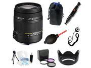 Sigma 18-250mm f3.5-6.3 DC MACRO OS HSM All You Need Bundle For Nikon D5100 DSLR