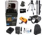 GoPro Hero 3+ Black Edition + XS Scuba Diving Mask + 32GB Extreme Sport Kit