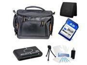 Camera Case Accessories Starter Kit for Nikon D3000 D5000 Canon T5 T5i DSLR Cameras
