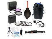 62mm 3 Pc Filter Kit + 4 Pc Macro Kit + Bonus for Nikon 20mm f/2.8 60mm f/2.8