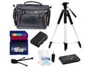 Intermediate Digital Camera Accessories Kit for Nikon D5500 DSLR Cameras