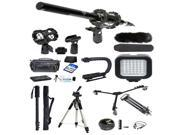 Professional Filmmaker's Kit for Canon PowerShot SX510 SX410 SX400 Cameras