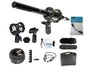 Microphone Broadcasting Accessories Kit for GoPro Hero4 Silver Camcorder