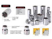 KD Tools 80645 18mm 1/2-inch Drive 6-Point Deep Socket