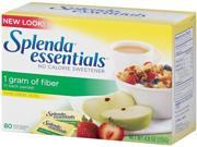 Splenda No-Calorie Sweetener with Fiber, 80 Packets/Box