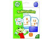 The Board Dudes LeapFrog LeapFrog Flash Cards, Subtraction, 4 3/4 x 6, 80 Cards