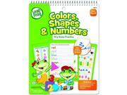 The Board Dudes LeapFrog SmartDudes LeapFrog Activity Book, Colors/Shapes/Numbers, Dry Erase, 16 Pages