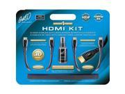 BellO HDK2612 6 Ft. 2 HDMI Cables with Bonus Screen Cleaner Kit
