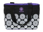GAIAM 30896 Teatime Tote (Black Marrakesh)