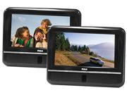 """RCA DRC6272E22 7"""" Mobile DVD Players, 2-Pack"""